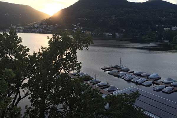 posti barca sul lago di Lugano alla Nautica Caslano
